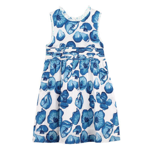 Simmy Girls Dress Big Floral