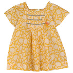 Sonia Girls Top Yellow