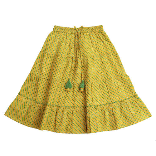 Sawan Lehenga Choli - yellow