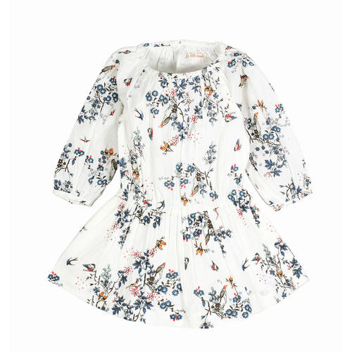 Bird Raglan Dress