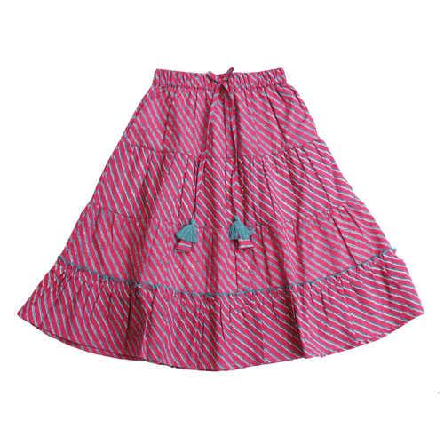 Sawan Lehenga Choli - Pink