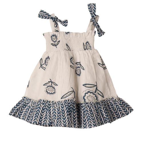Piya Baby Dress Buti Blue