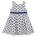 Garden Buti Dress Blue