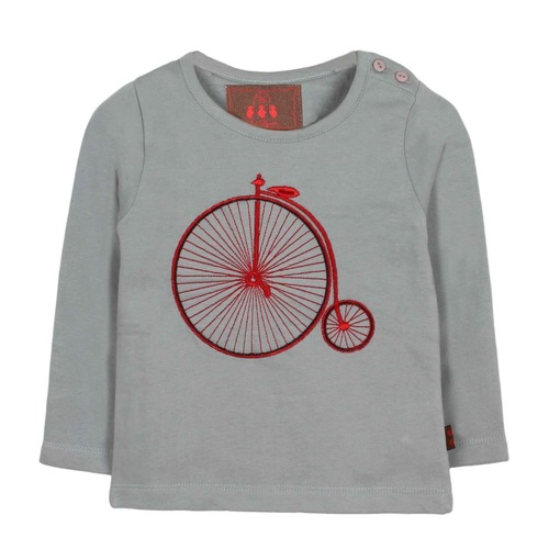 Cycle Tee Gray