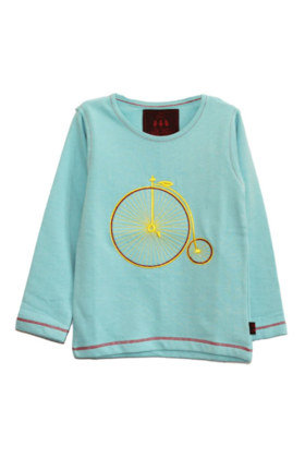 Boy's Vintage Cycle Tee Blue