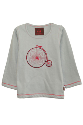 Boy's Vintage Cycle Tee Grey