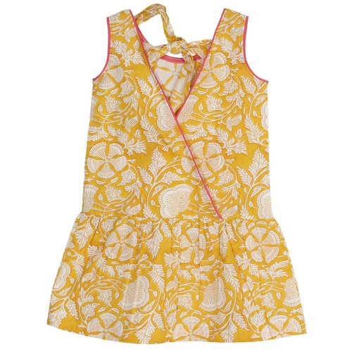Suki Girl's Dress Yellow
