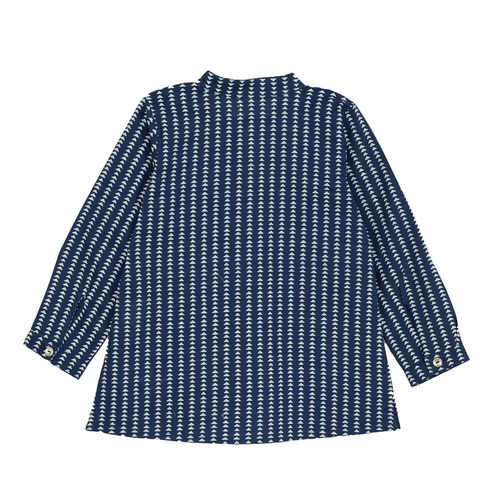 Blue Triangle kurta