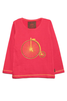 Boy's Vintage Cycle Tee Red