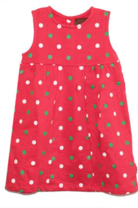 Dot Dress Red