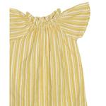 French yellow night dress