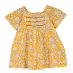 Sonia Girl's Top Yellow