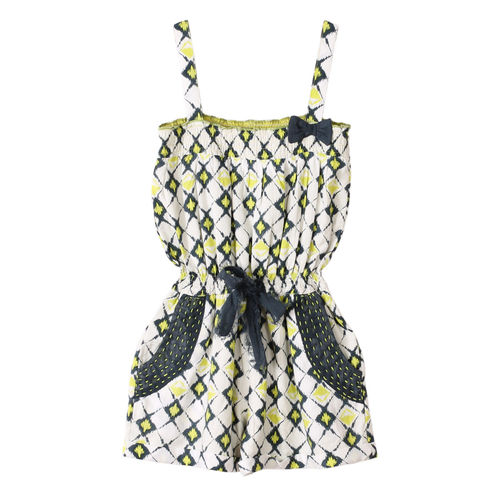 Sam Playsuit small ikkat