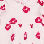 Gul Dress Tie Dye Print