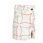 Moha Shorts - Big Flower- Red