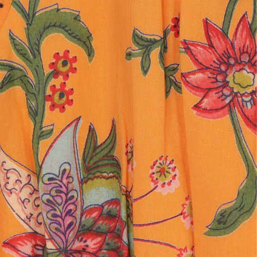 Mahira Orange Dress