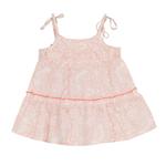 Rashi Baby Top Printed Blush Pink