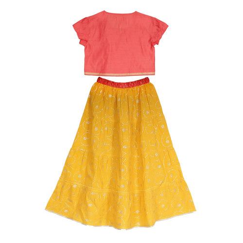 Meera Lehenga Yellow