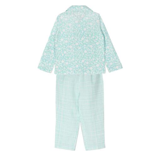 Jasmine Night Suit Blue