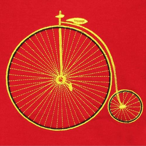 Cycle Tee Red