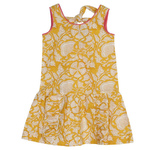 Suki Girls Dress Yellow