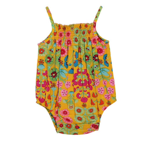 Esmee Romper Ethnic Yellow