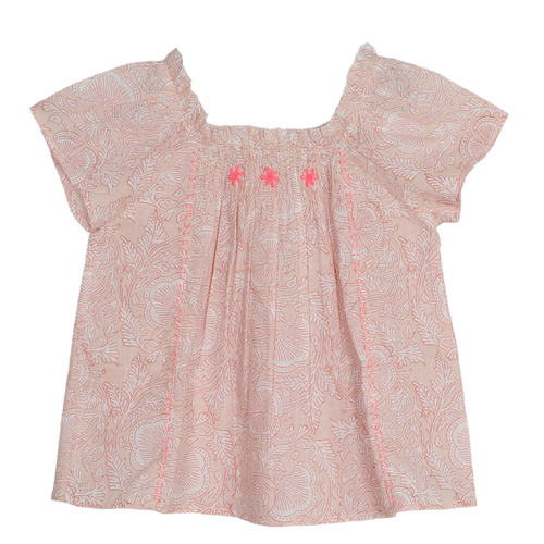 Sonia Girls Top Blush Pink