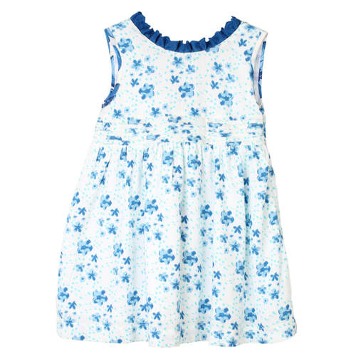 Simmy Girl's Dress Blue
