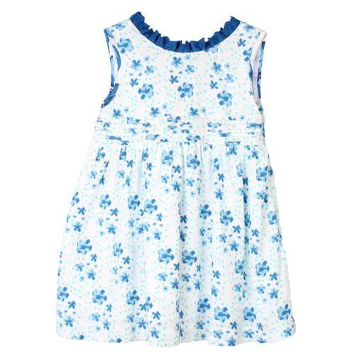 Simmy Girls Dress Blue