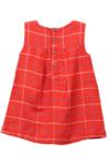 Check Dress Red