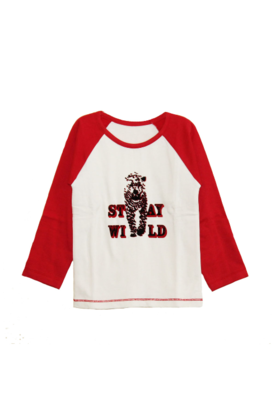 Leopard Tee Red