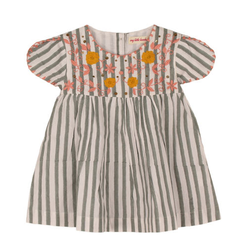 Sansa Baby Dress Grey
