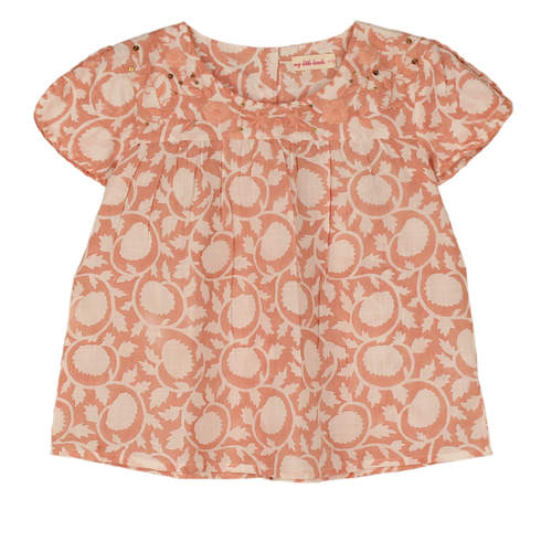 Sansa Girls Top Pink