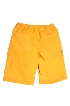 Boy's Shorts Yellow