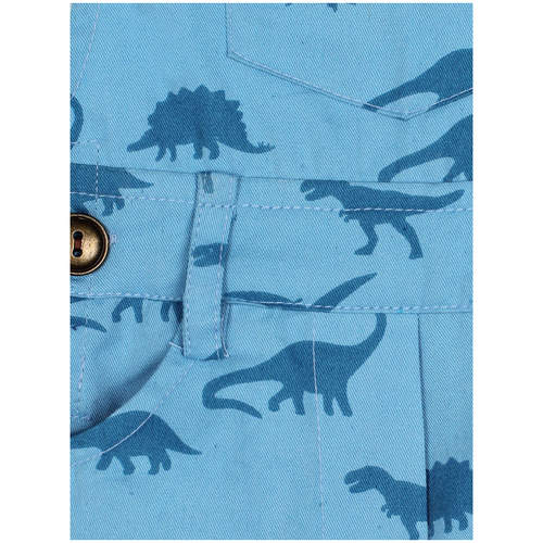 Dino Blue Dungaree