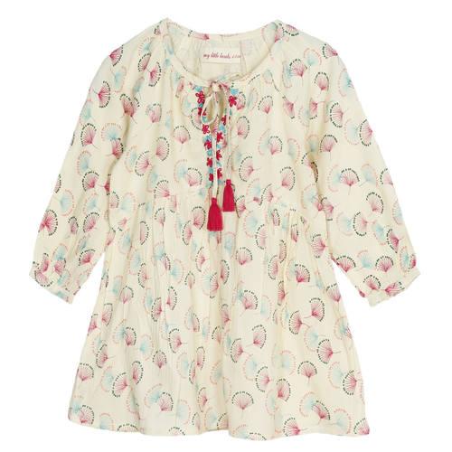 Jassi Girl's Dress Beige