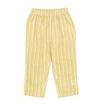 Zig Zag Stripe Yellow Night Suit