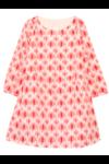 Raza Dress ikkat Red