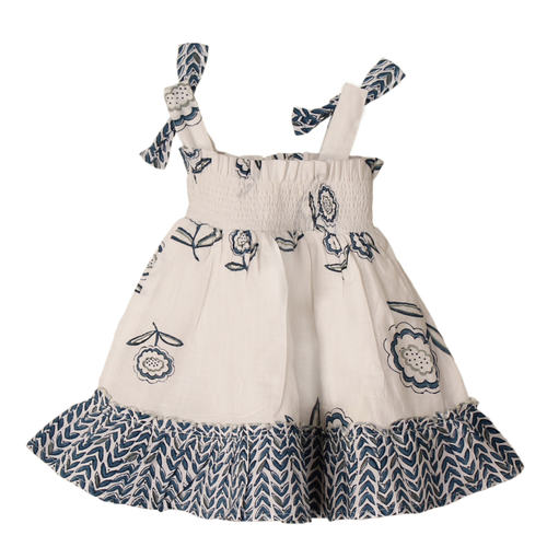 Piya Baby Dress Buti Blue