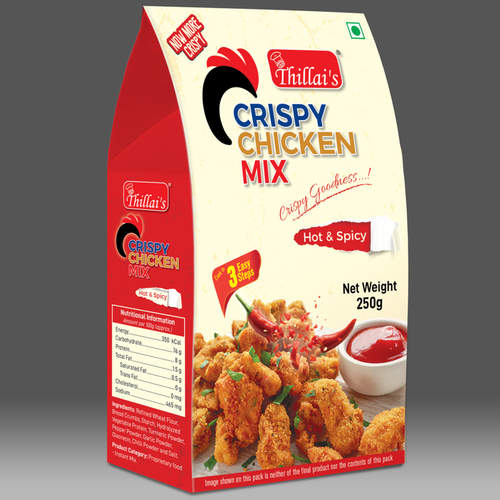 Crispy Chicken Mix - Hot and spicy