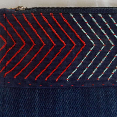 Vegaro purse blue Small B6
