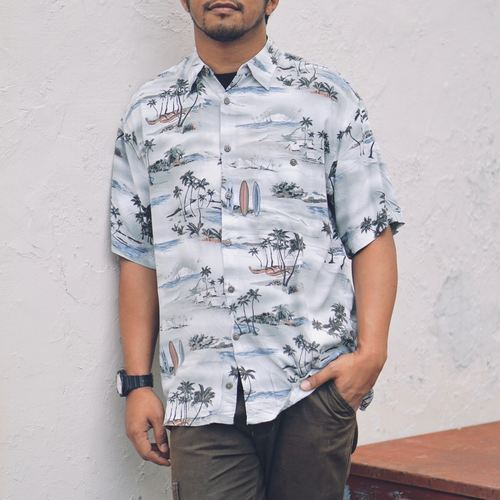 Vintage Pierre Cardin Beach Shirt