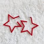 Acrylia Star Earring