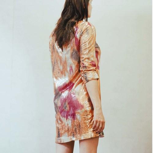 Vintage Sequinned Dress