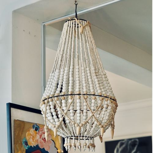 Nara Handmade Beaded Chandelier