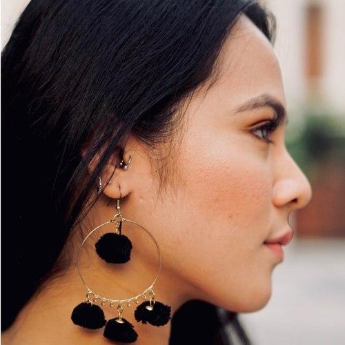 Nepalese Brass earrings