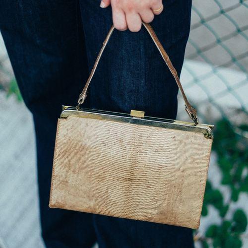 1940s Vintage Kelly Bag
