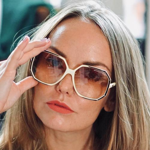 Vintage Balenciaga Oversized Sunglasses