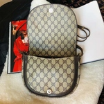 Vintage Gucci Accessory Saddle Bag