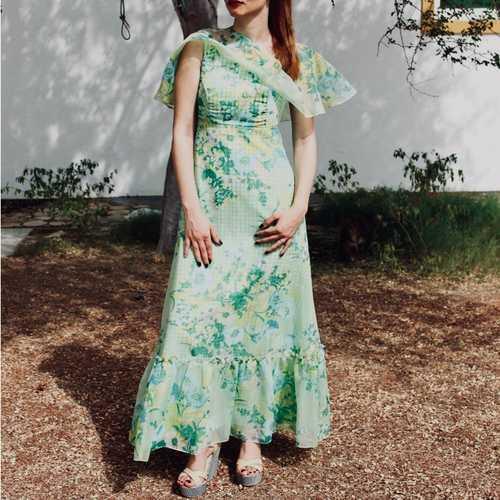 Summer Vintage Dress
